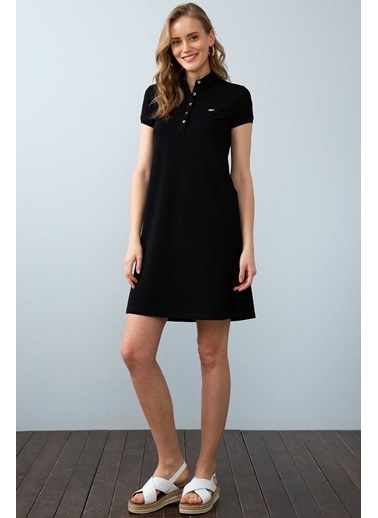 U.S. Polo Assn. Elbise Siyah